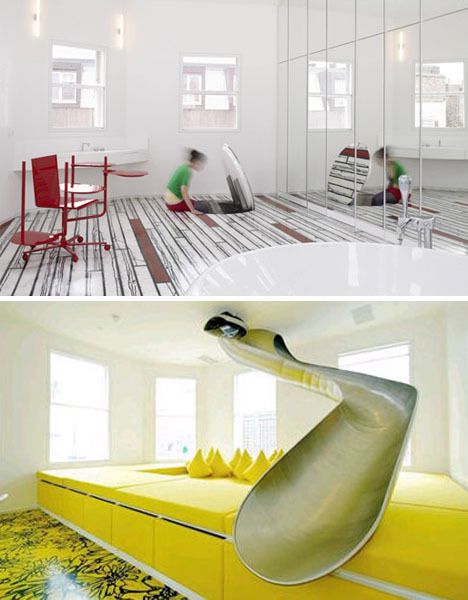 Trap-door-slide-floor