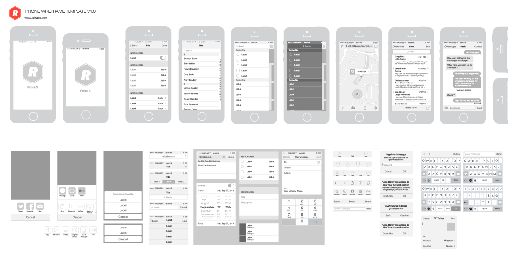 Free iphone vector wireframing toolkit the design ocean screen shot 2014 05 15 at 125858 am here is a free iphone wireframing toolkit for illustrator pronofoot35fo Choice Image