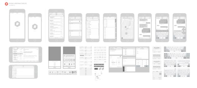 iPhone-6-Wireframing-Toolkit